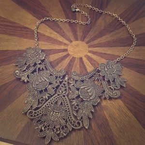 Jewelry - Antique colored copper necklace